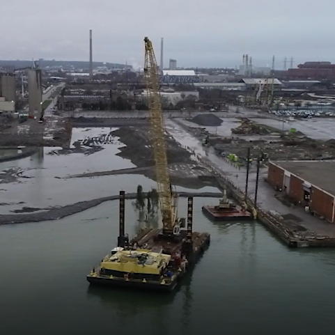 Construction Progress at Essroc Quay – May 2019
